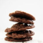 Ooey-Gooey Chocolate Chocolate Chip Cookies