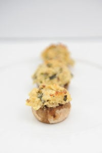 Amazing Appetizers : Chicken Piccata Stuffed Mushrooms