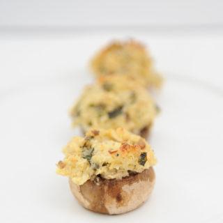 Stuffed mushrooms 2