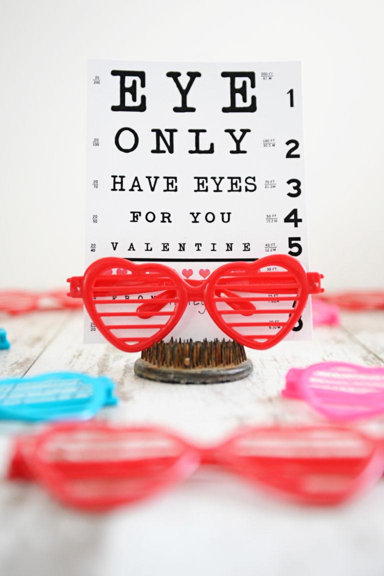 Eye chart valentine 1