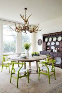 Color Trends: Greenery : Ideas for Adding Pantone's 2017 Color of the year into your home decor