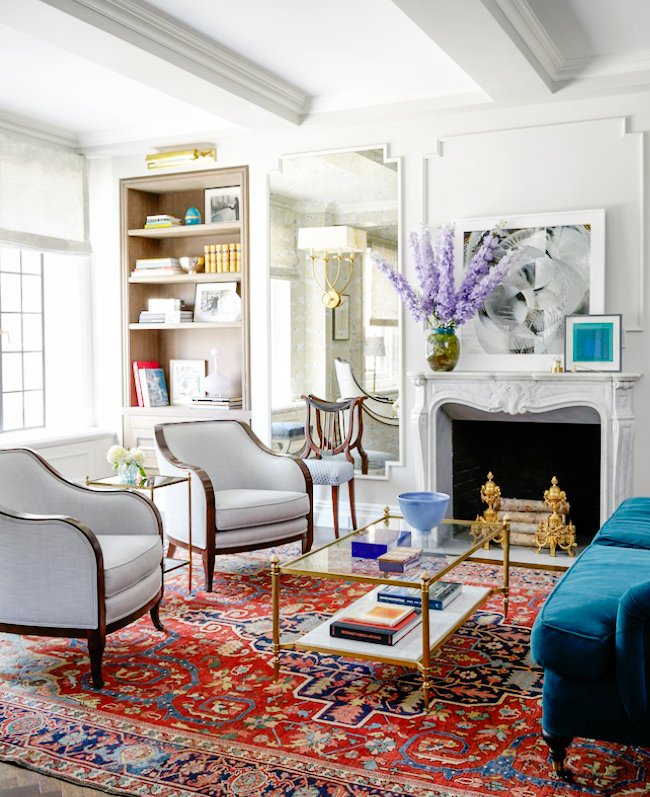 A Modern Take on Traditional Glam : Emmy Rossum\'s NYC Apartment ...