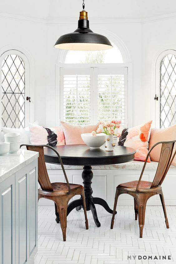metal dining chairs on a budget