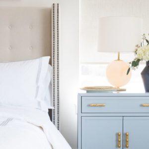 powder blue nightstands