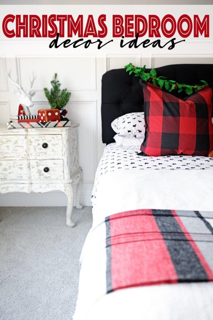 Christmas Bedroom Decor Ideas : A Holiday Bedroom