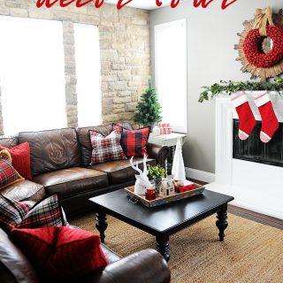 Christmas home decor tour