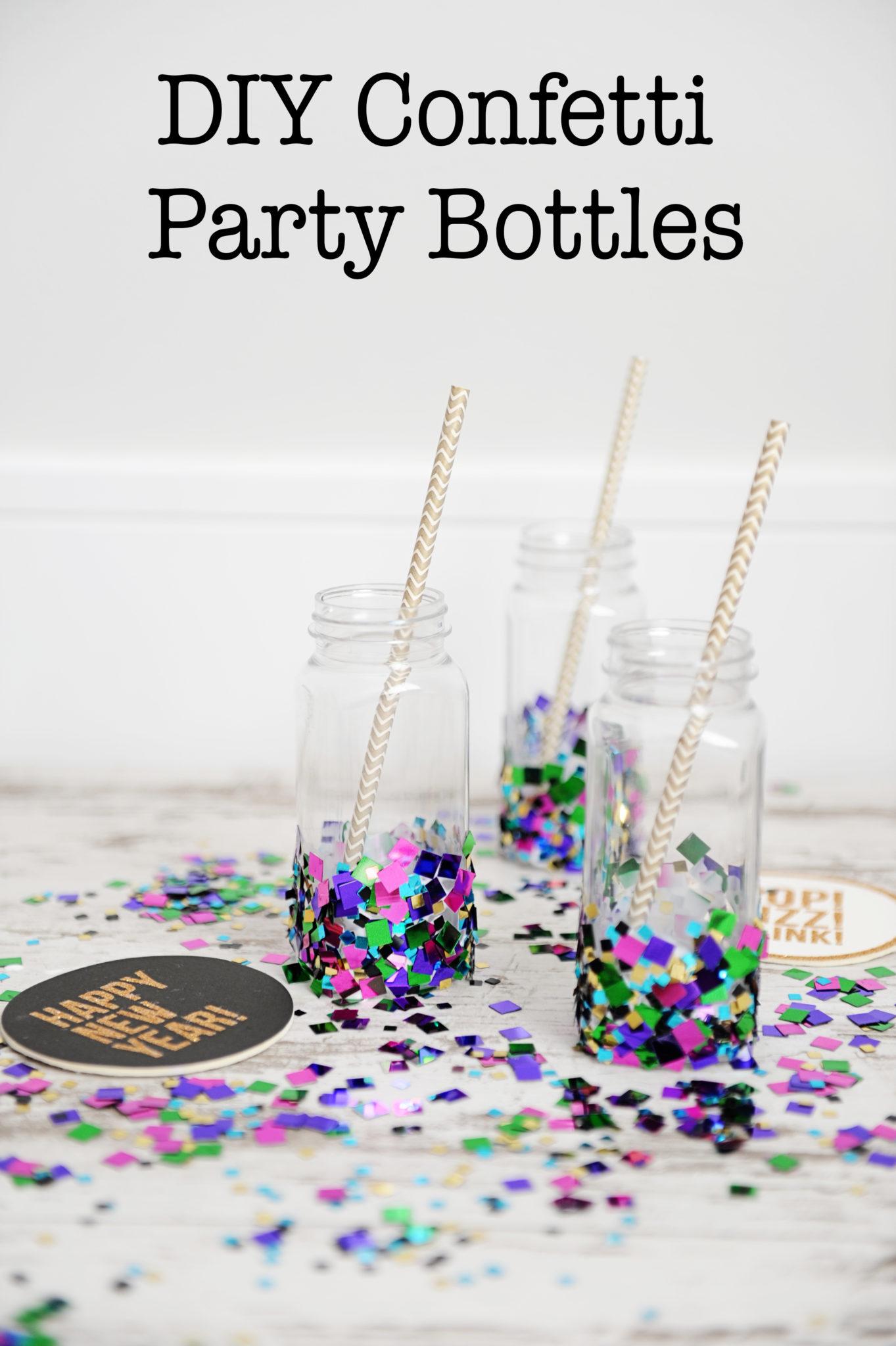 diy party decorations confetti cups