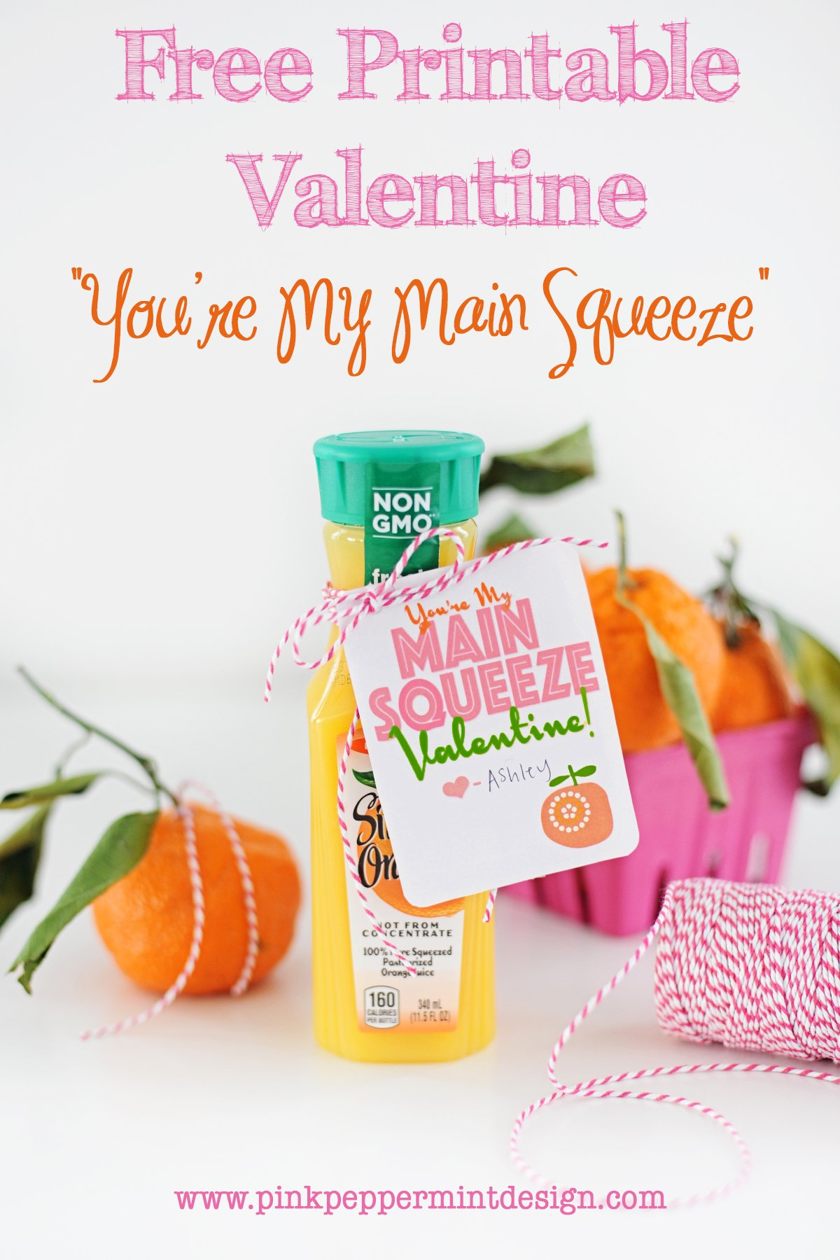 DIY Handmade Free Printable Valentine for kids party ideas