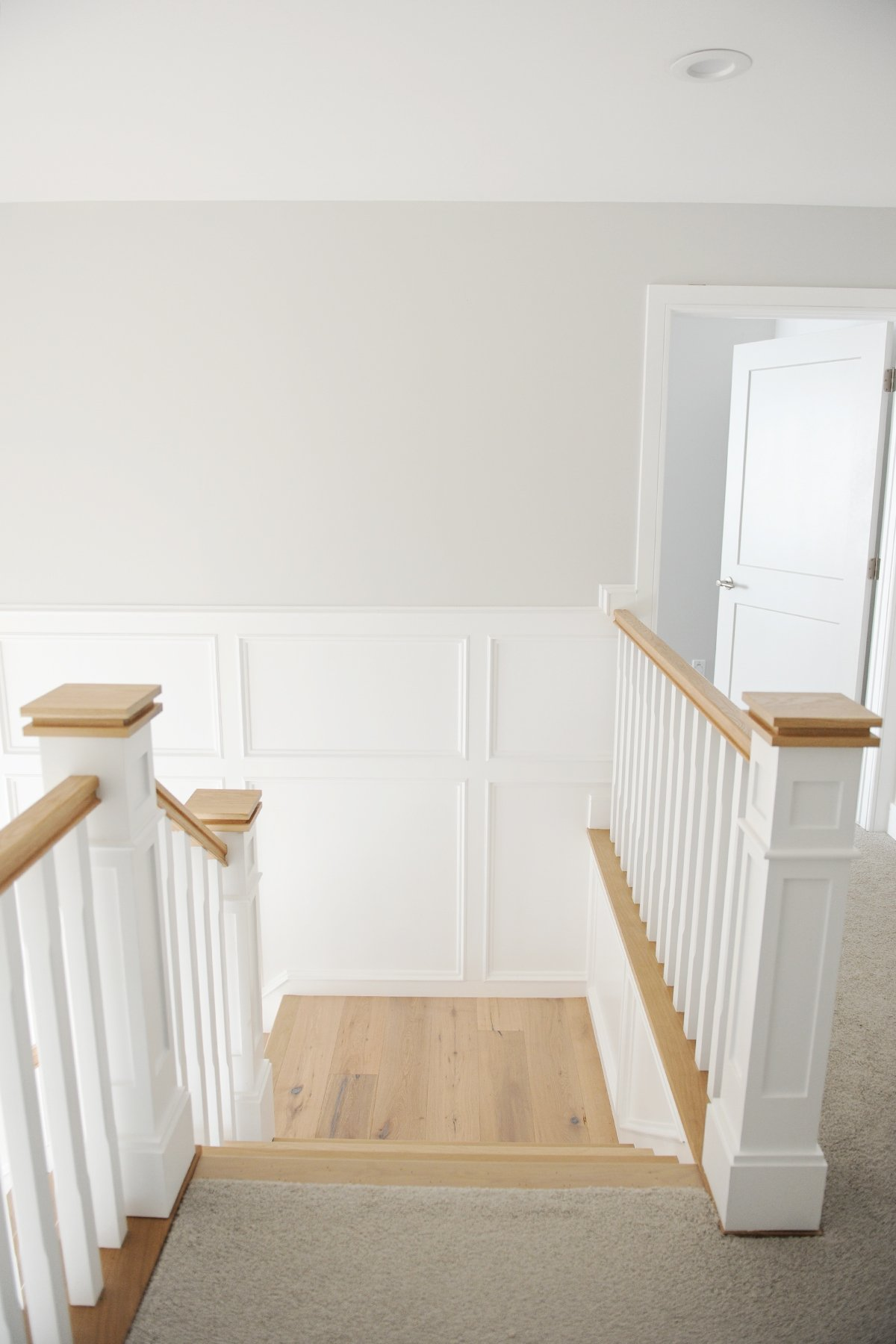 millwork in the entry way