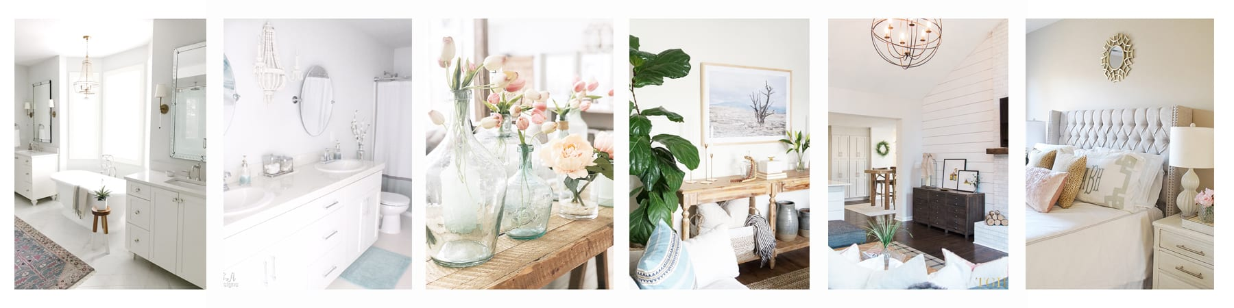 Thursday rooms we love collage with summer