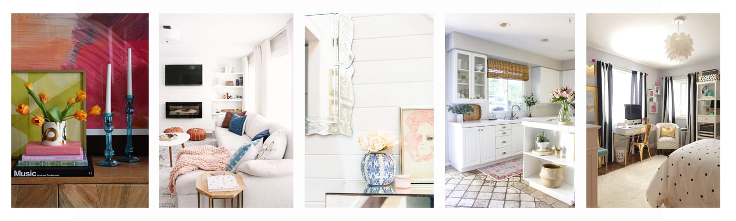 Tuesday rooms we love collage