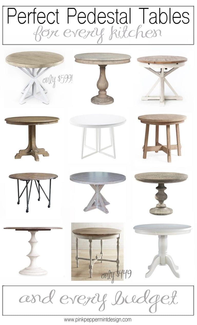 Kitchen table round up 4x6