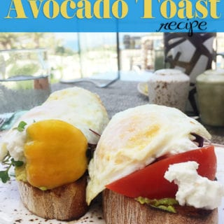 avocado toast with egg recipe