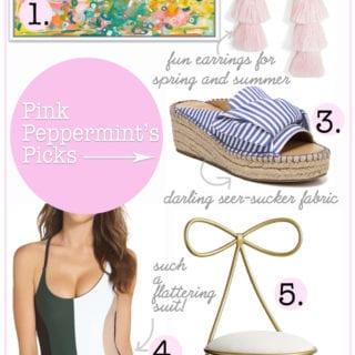 pink peppermint's picks