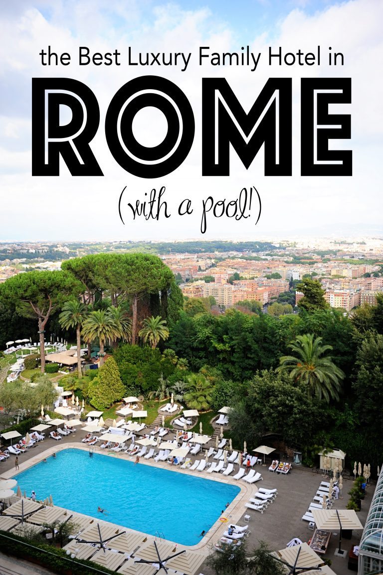 Best luxury family hotel with a pool in rome