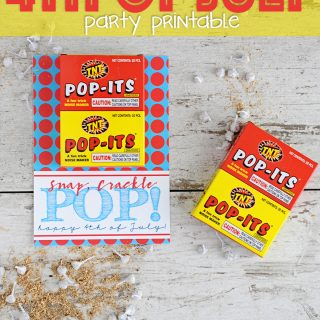 free 4th of july patriotic party printable