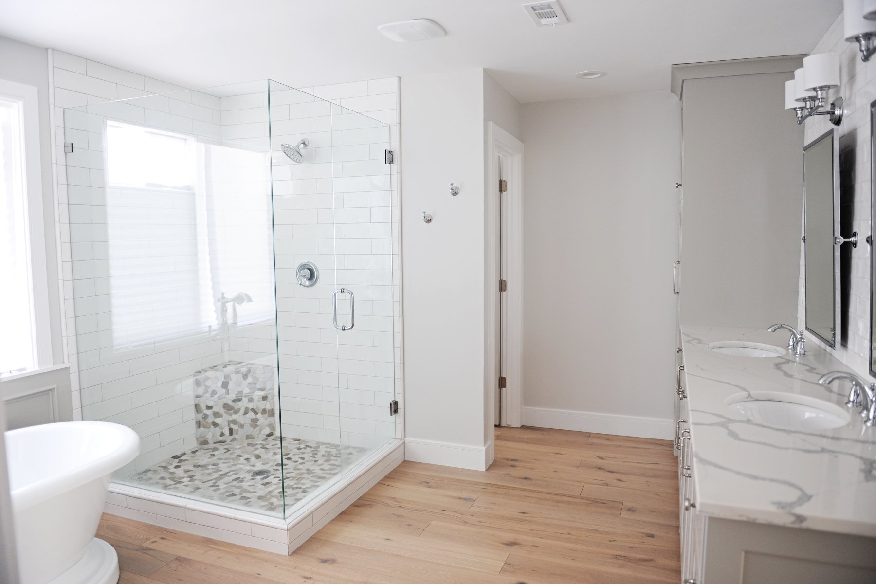 Master Bathroom Remodel & Renovation Idea: Before and After