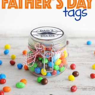 free printable father's day tags dad's stash