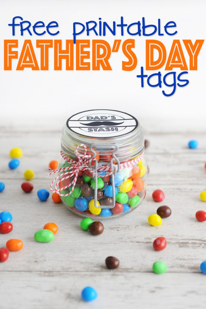 Free Father's Day Printable Tags : Dad's Stash