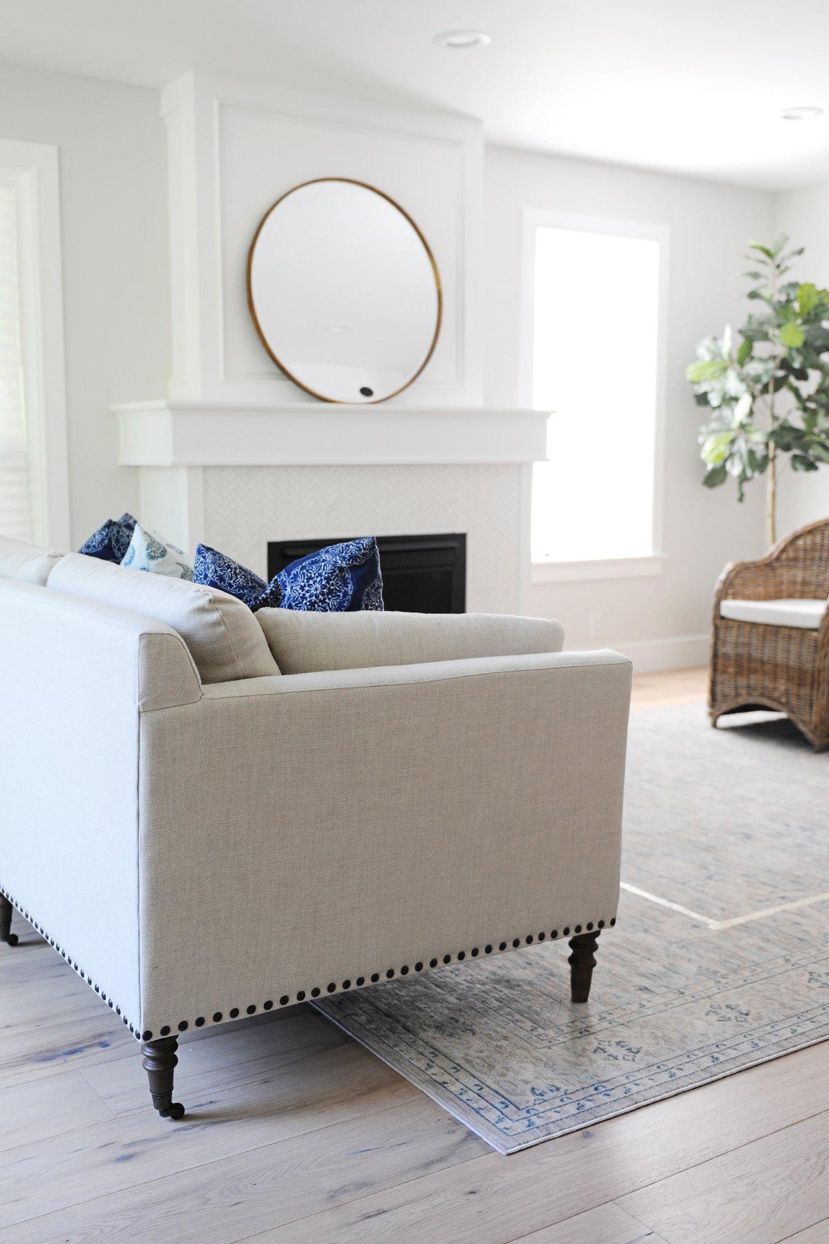 modern coastal decor living room