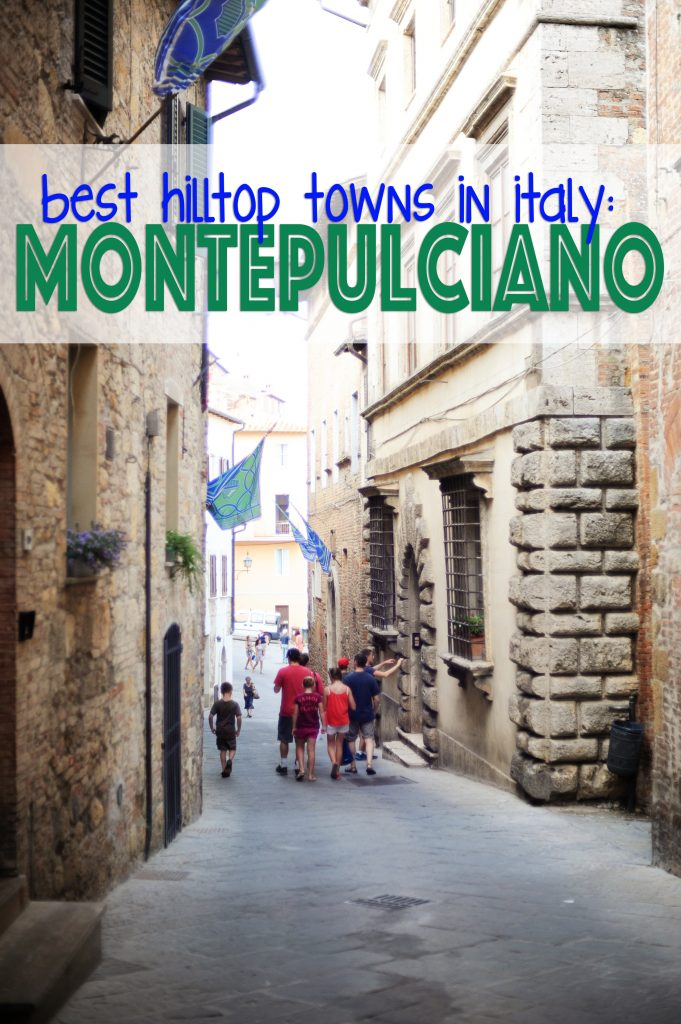 Best Hilltop Towns in Italy : Montepulciano