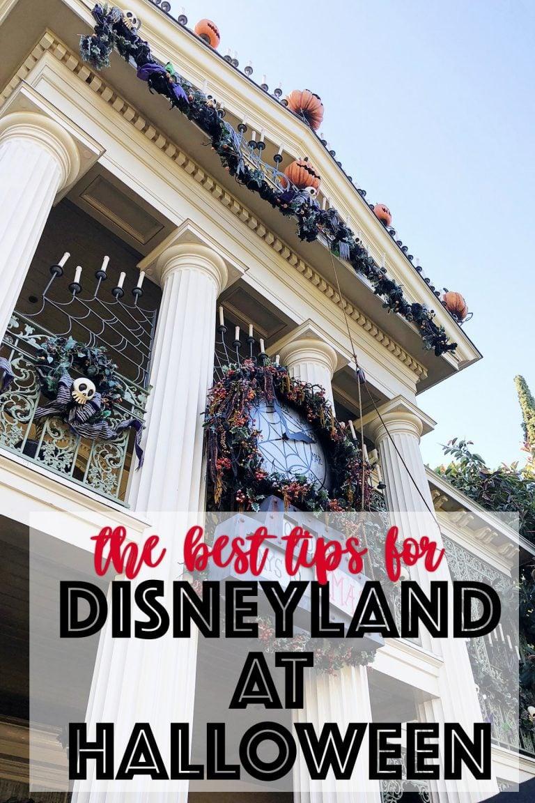 Disneyland at halloween tips