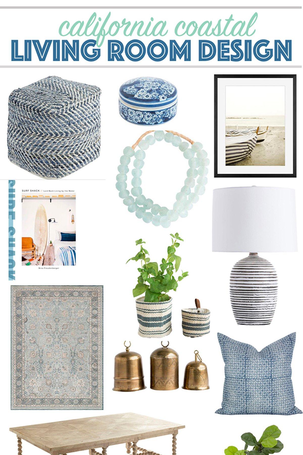 Modern coastal collage featured