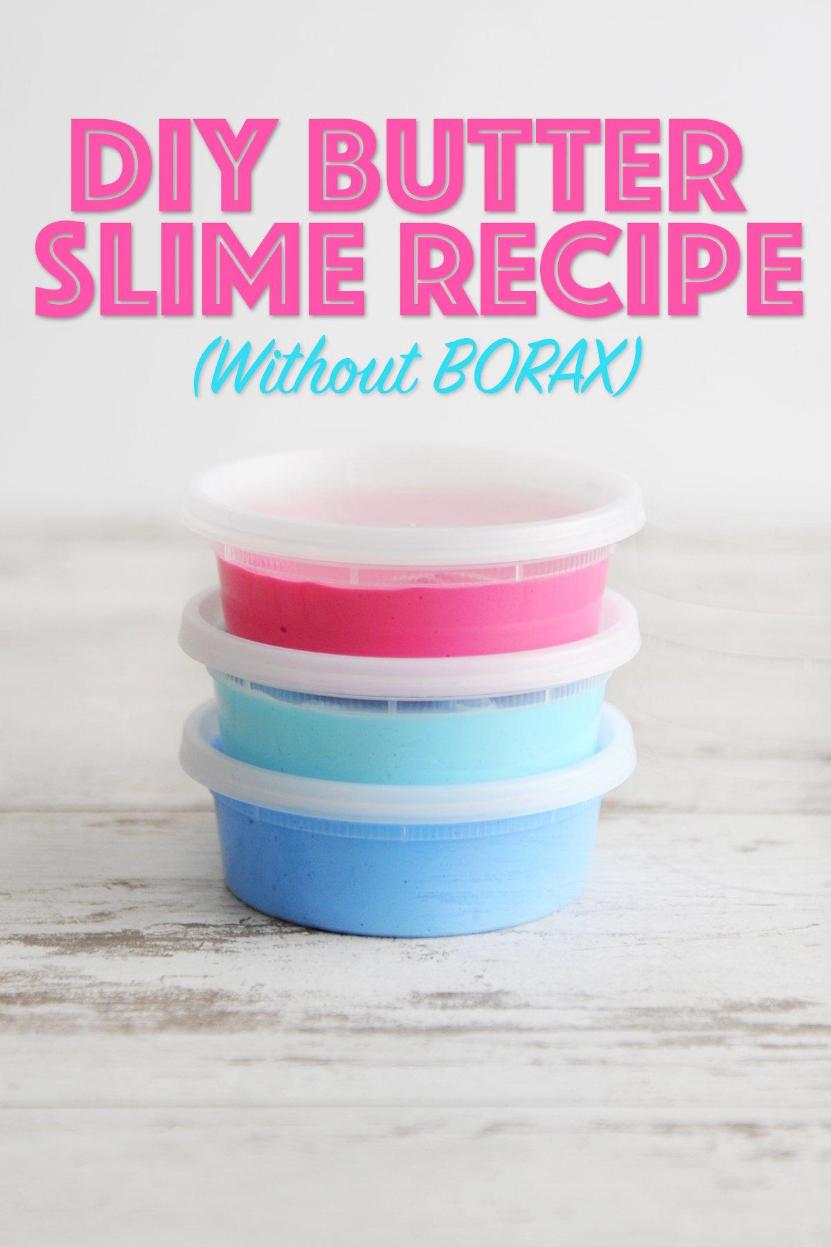 best butter slime recipe
