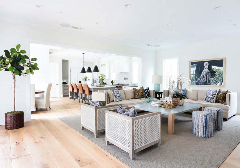 Beautiful Modern Coastal Design Ideas for Living Rooms - Pink ...