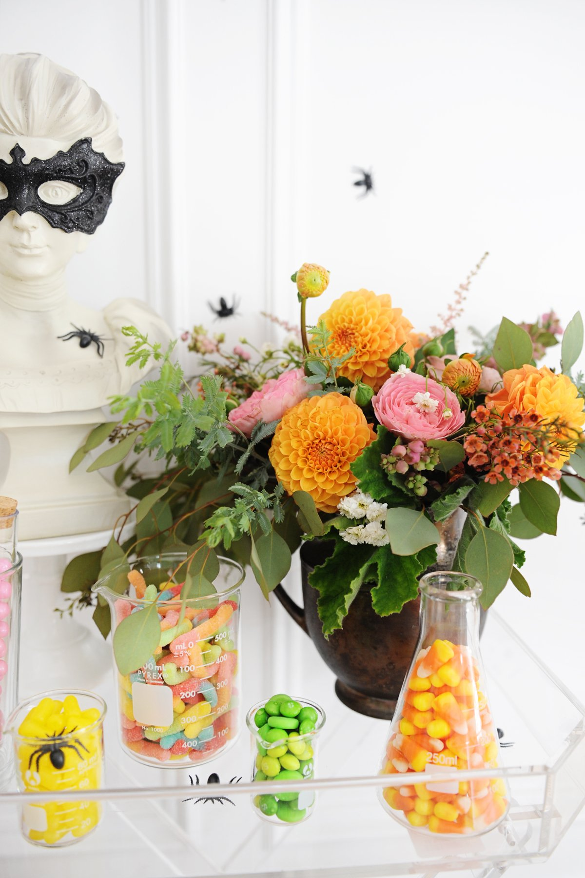 halloween candy buffet ideas