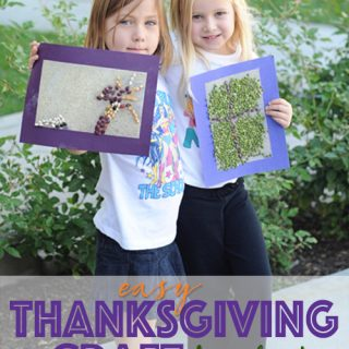 Easy kids thanksgiving crafts