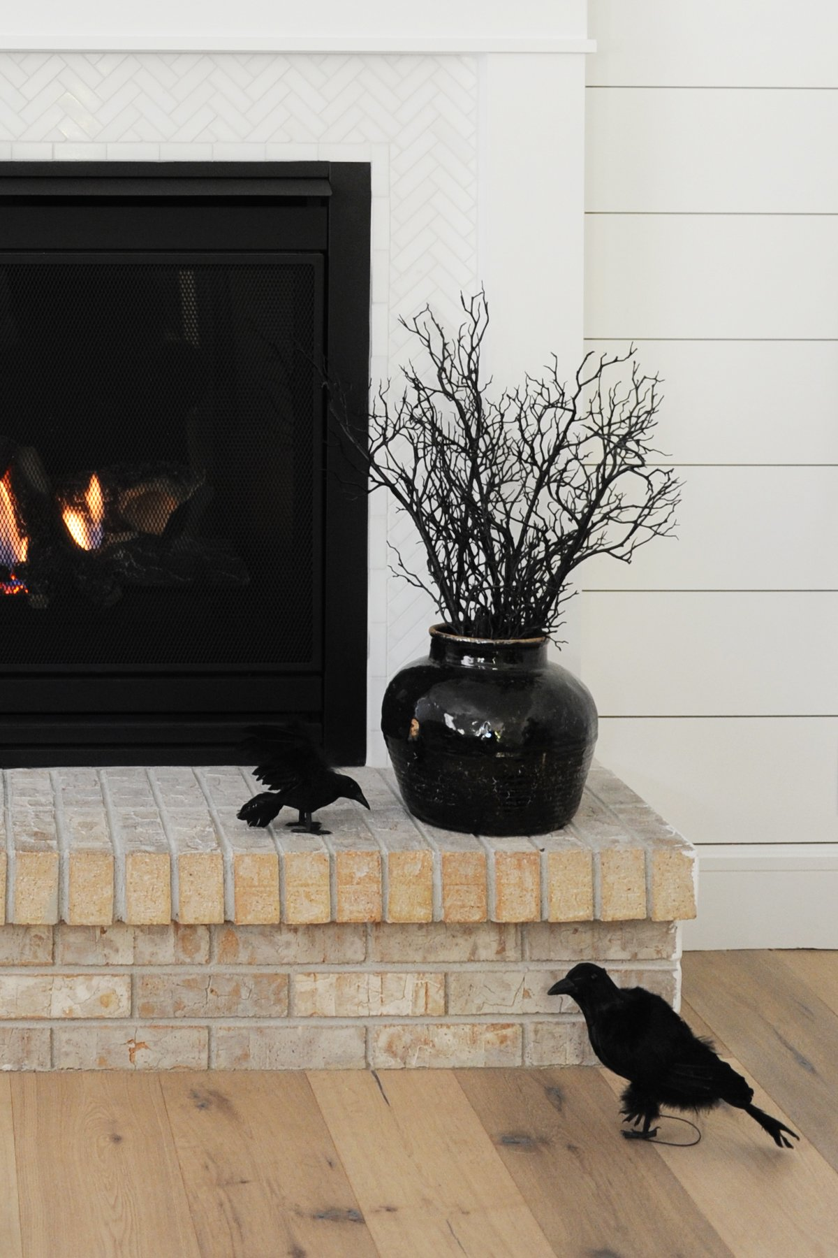 halloween mantel decor ideas