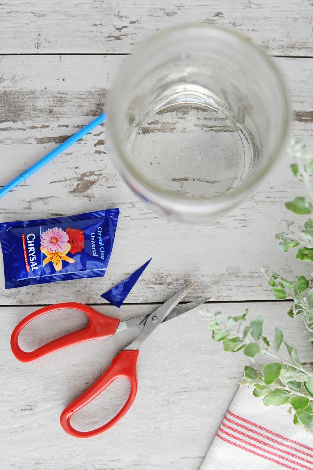 how to prep your vase so it won't leak