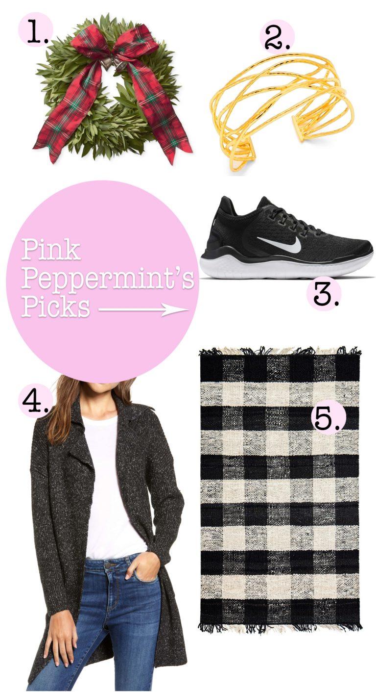 Pink peppermints picks oct 31st