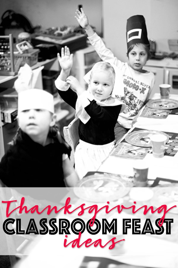 Thanksgiving Feast Ideas for a Classroom Party