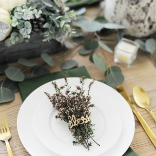 Thanksgiving table setting ideas 3