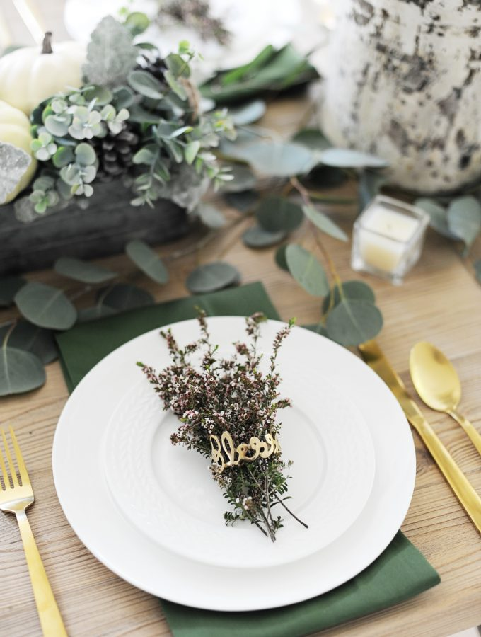 Creative Thanksgiving Tablescapes