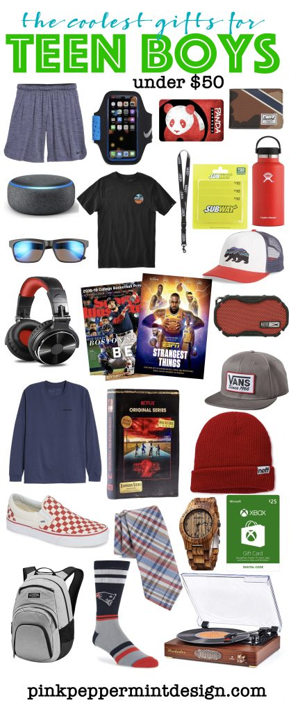 The Coolest Gifts for Teen Boys Under $50