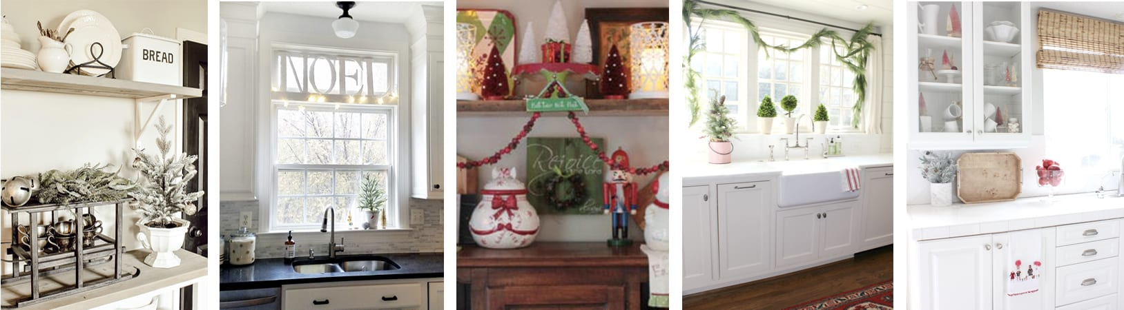 Tuesday christmas kitchen collage
