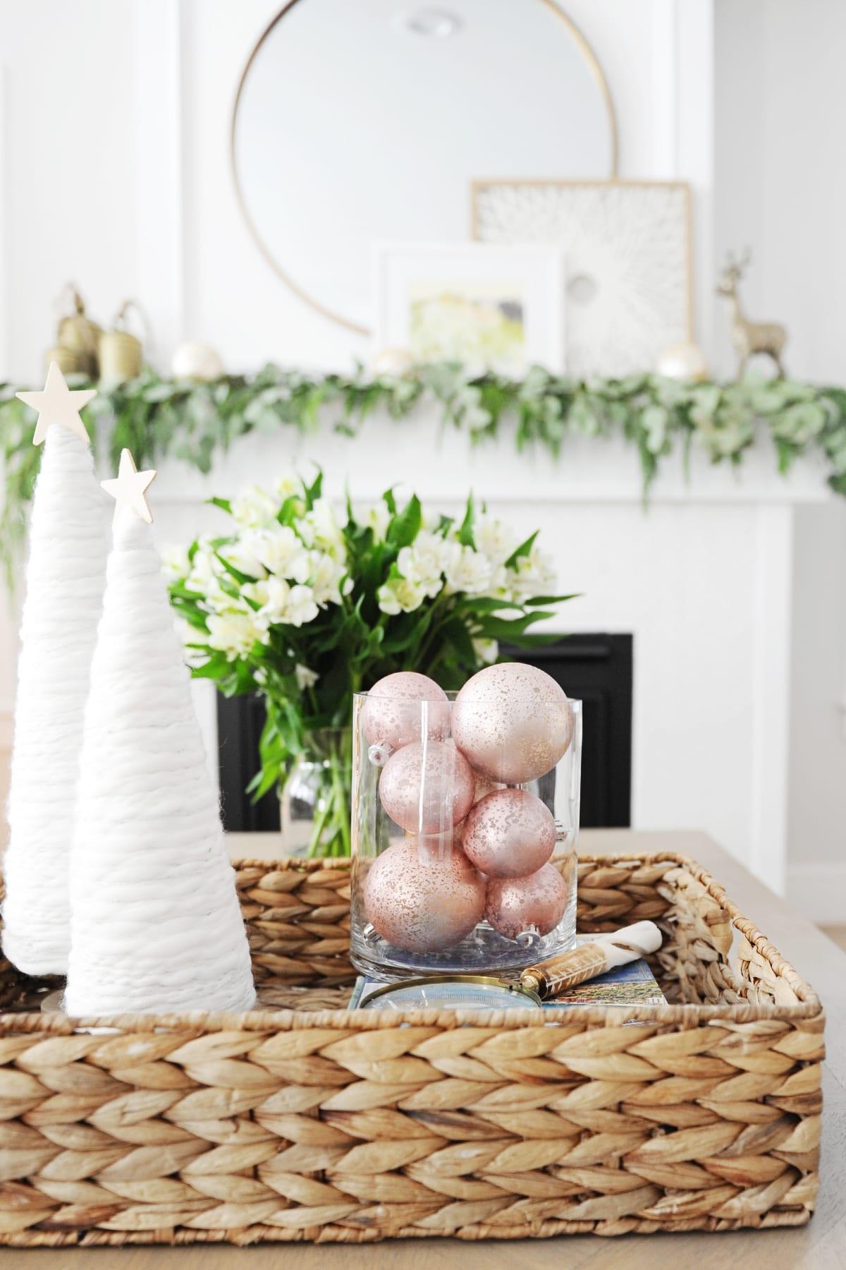 Christmas living room decor ideas