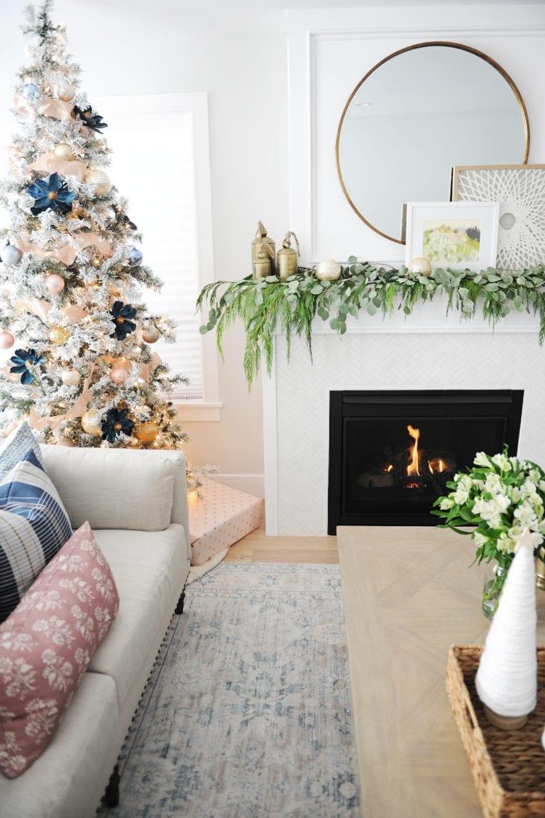Christmas living room decorating ideas 5