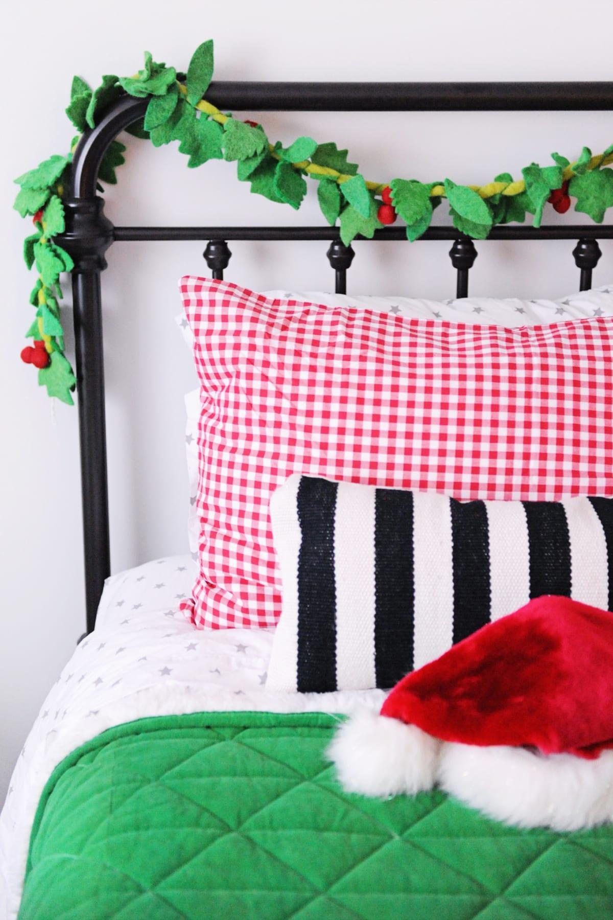 Diy christmas bedroom decor ideas