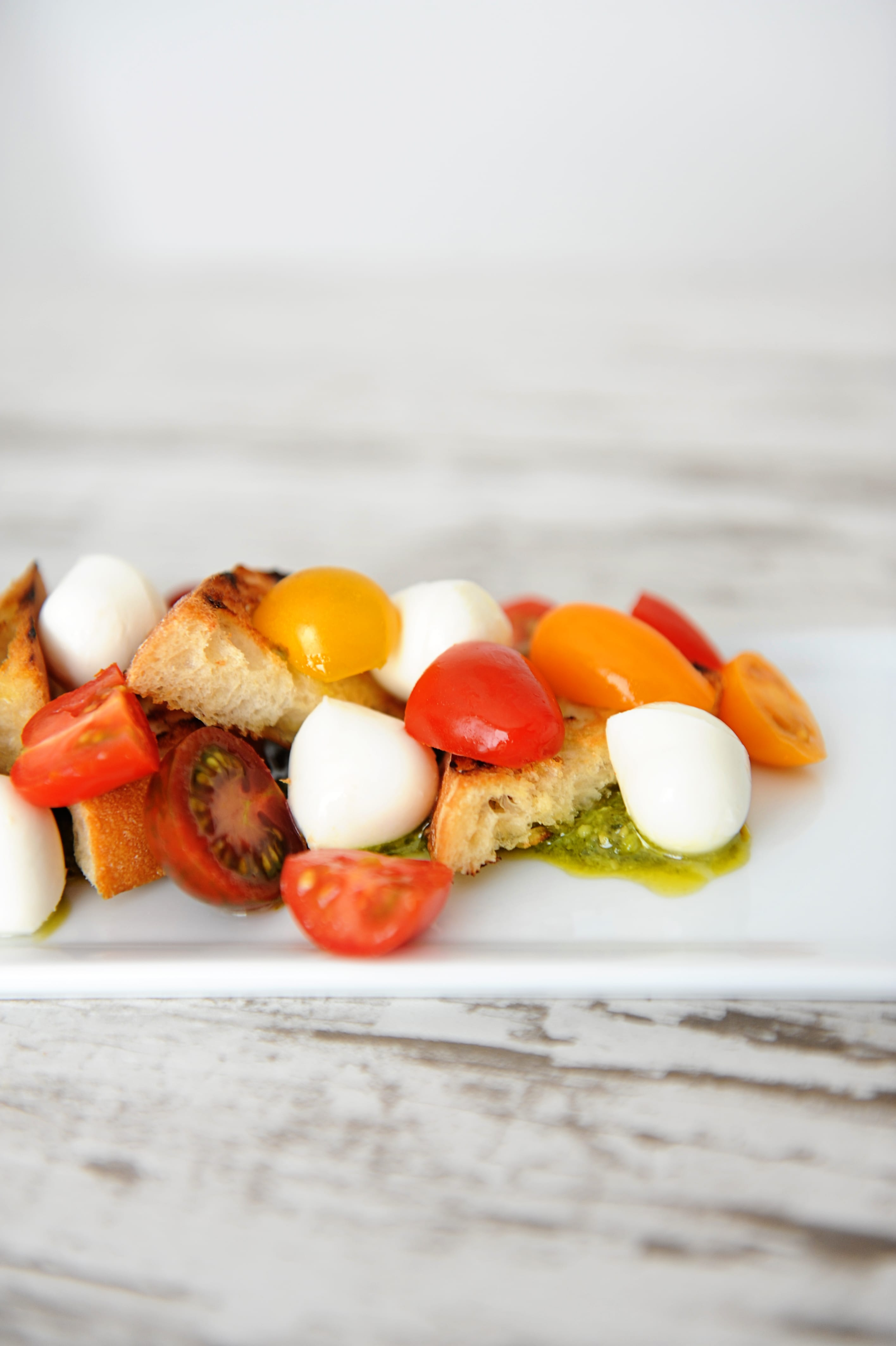 Easy burrata and heirloom tomatoes appetizer recipe step 3