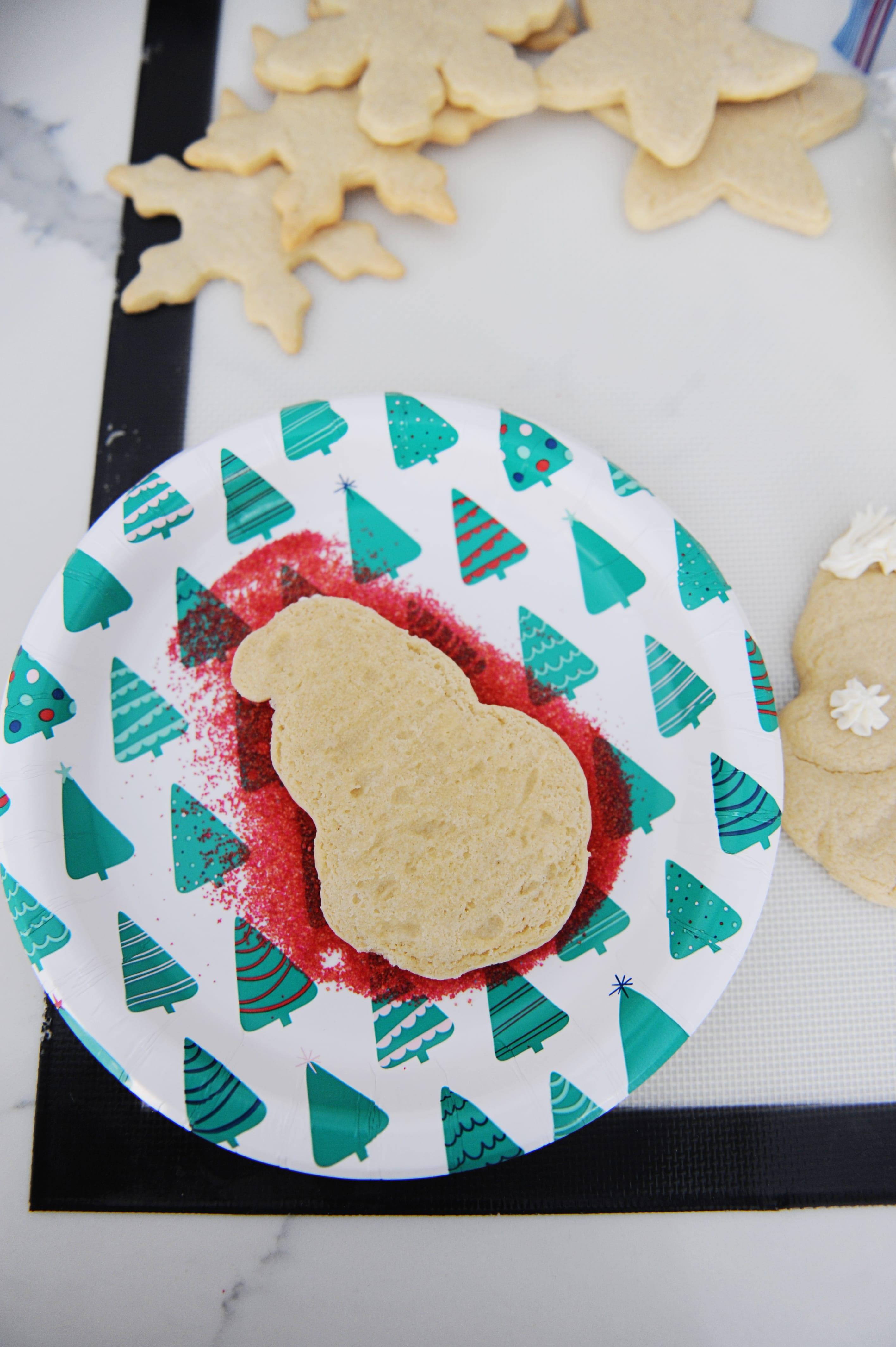 How to make diy santa cookies