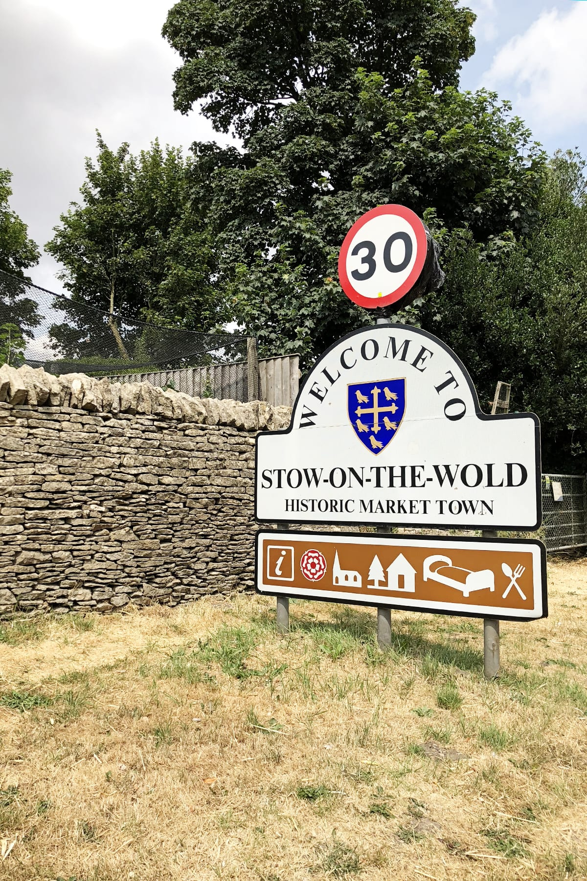 Visiting stow on the wold
