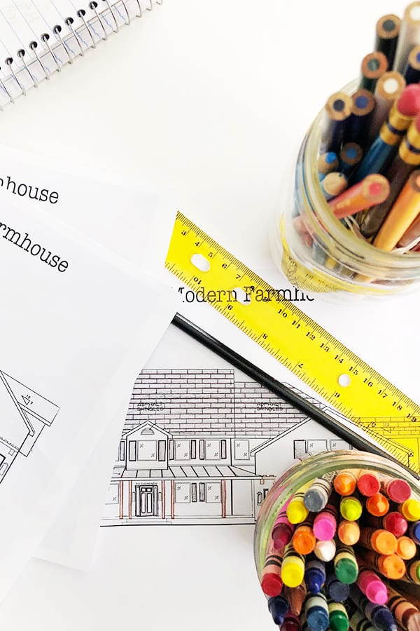 Modern farmhouse plans with wrap around porch