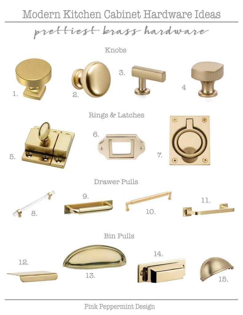 Prettiest brass hardware