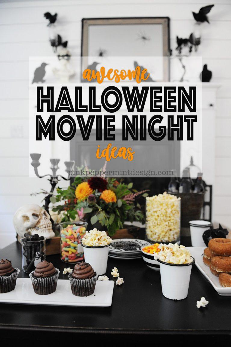 Halloween movie night ideas