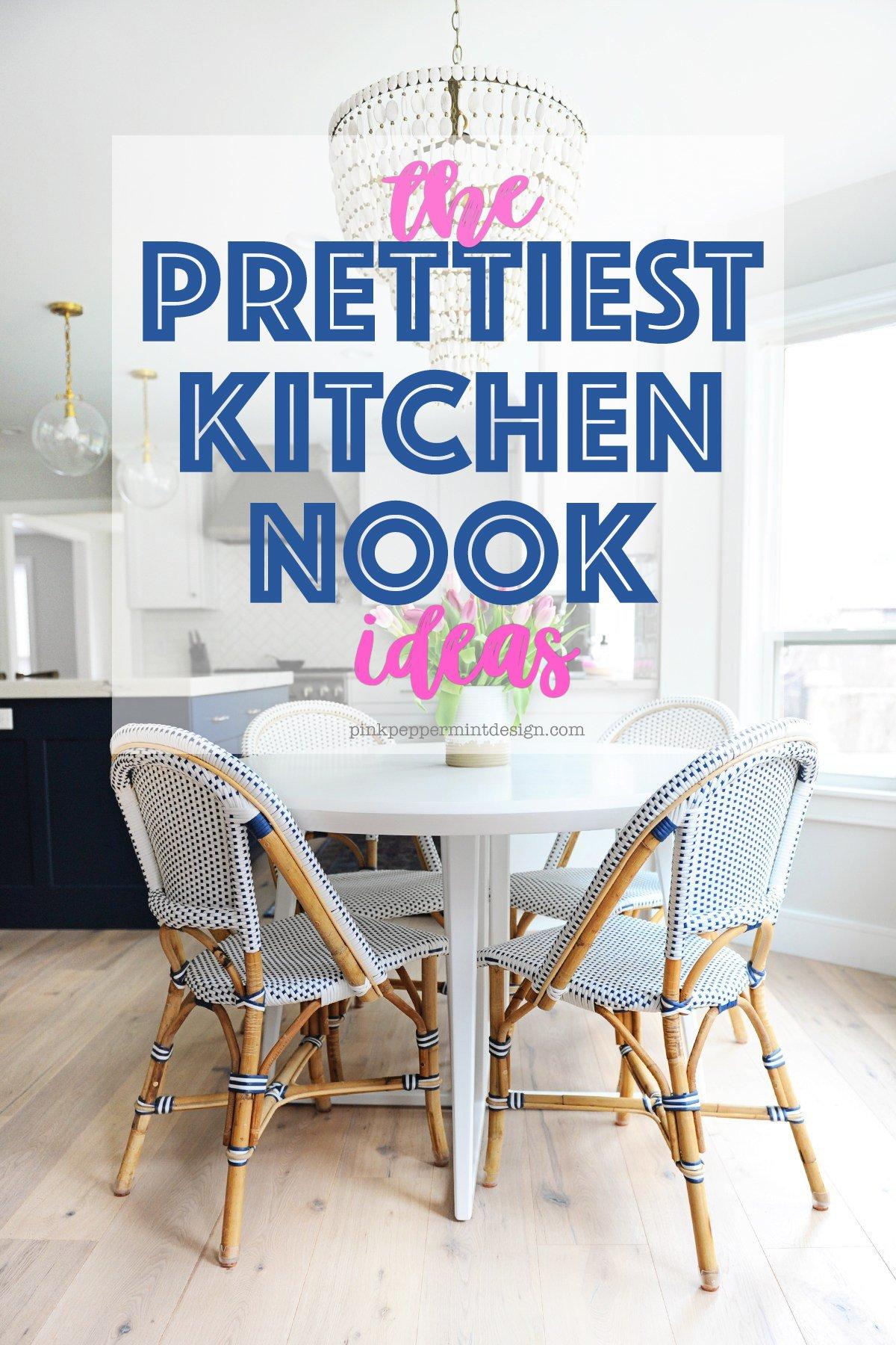 10 of the Prettiest Breakfast Nook Ideas - Pink Peppermint ...