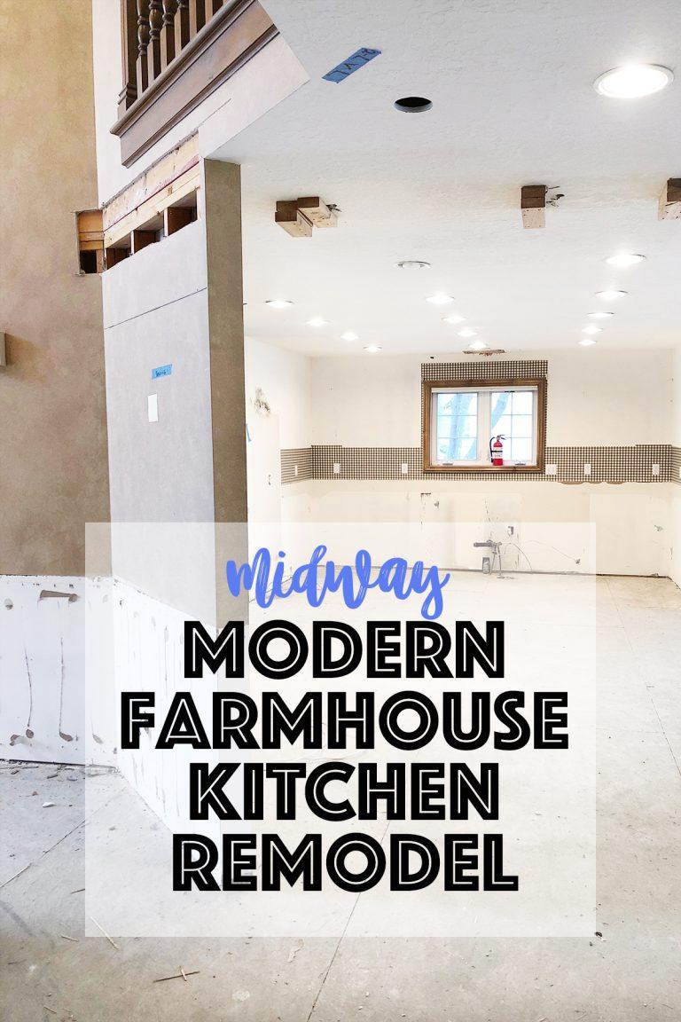 Midway modern kitchen reodel